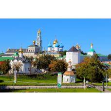 Свято-Троице Сергиева Лавра+Черниговско-Гефсиманский Скит+Покровский монастырь