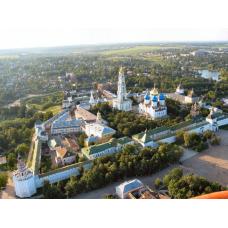 Троице-Сергиева Лавра+ Черниговско-   Гефсиманский Скит +Покровский монастырь + г. Сергиев-Посад